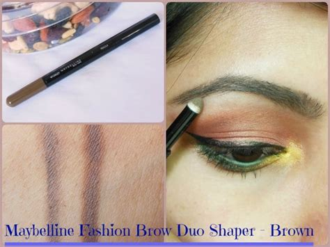 Maybelline Fashion Brow Duo Shaper browsonfleek with maybelline fashion brow duo shaper