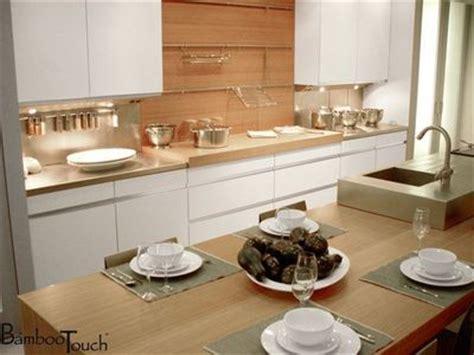 plan de travail en bambou pour cuisine 11 photos de plans de travail originaux pour la cuisine