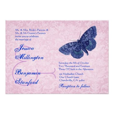 butterfly wedding invitations templates wedding invitation wording wedding invitation templates