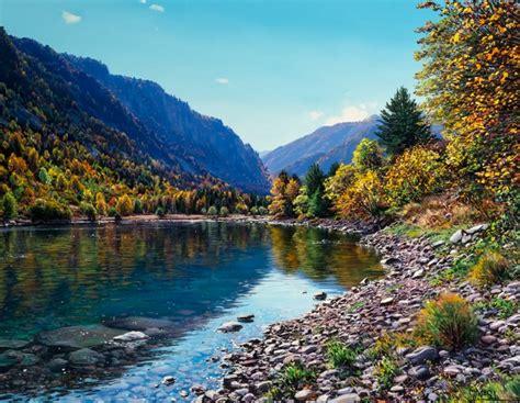 imagenes de paisajes naturales lindos im 225 genes arte pinturas im 225 genes de paisajes bonitos y