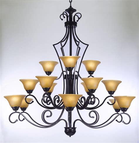 Versailles Collection Wrought Iron Chandelier F84 451 15 Gallery Wrought Without Crystal Wrought Iron