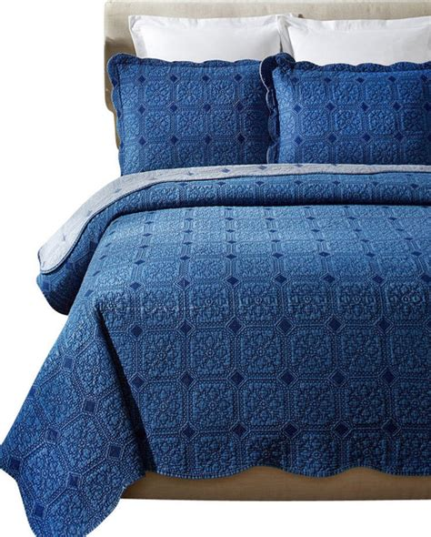 denim comforter set full denim diamond cotton quilt set full queen set