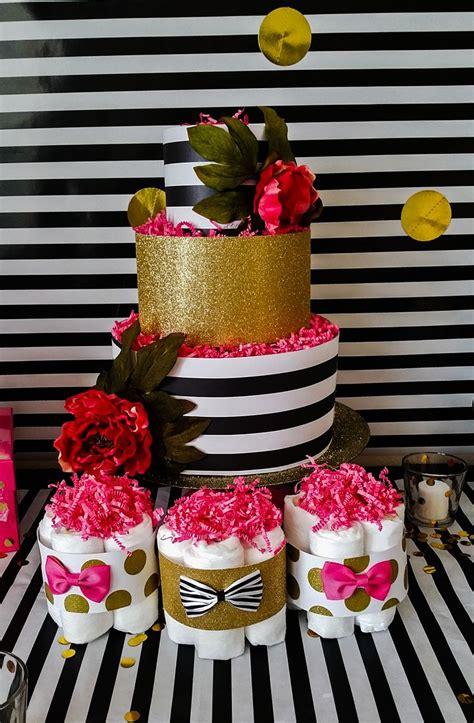 google theme kate spade kate spade inspired diaper cake and diaper cake mini s