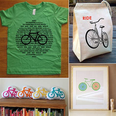 bicycle themed clothing and decor for popsugar