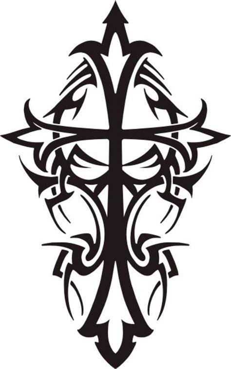 tattoo cross tribal design tattoo mania tribal cross tattoos