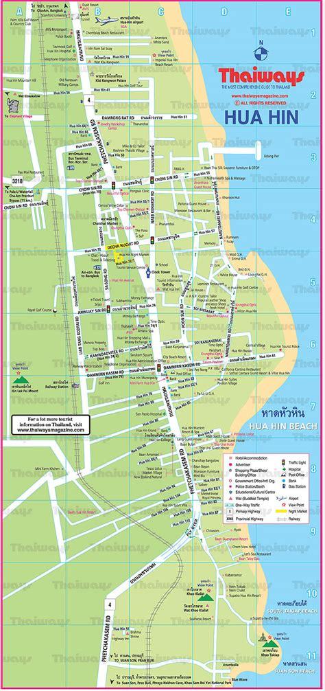 Property Floor Plans by Map Of Hua Hin Blue Lagoon Hua Hin Villas And Apartments