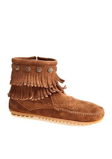 belk fringe boots minnetonka fringe boot belk