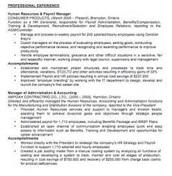 Job Promotion Resume by Resume Formats Jobscan