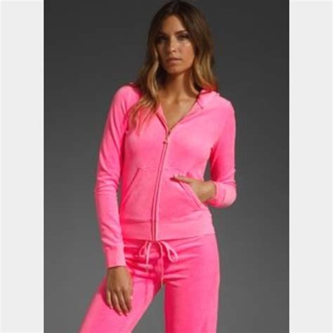 juicy couture tracksuit sale juicy couture hot pink juicy couture zip up jacket