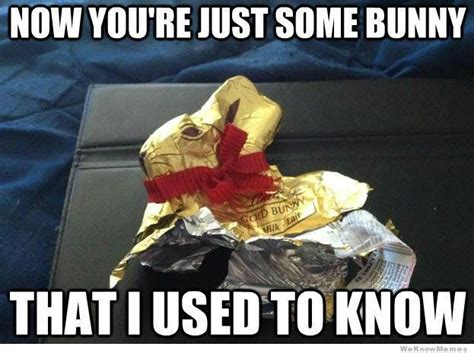 Chocolate Easter Bunny Meme - 12 funniest easter memes weknowmemes