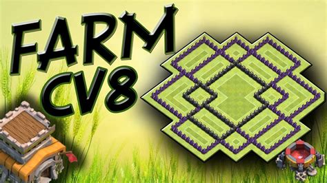 layout batman cv 8 layout cv8 farm o mais top clash of clans youtube