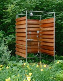 Shower Screen For Baths outdoor dusche f 252 r erfrischende momente im sommer