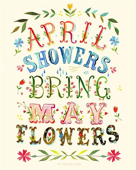 April Showers Brings May Flowers april showers bring may flowers pictures photos and