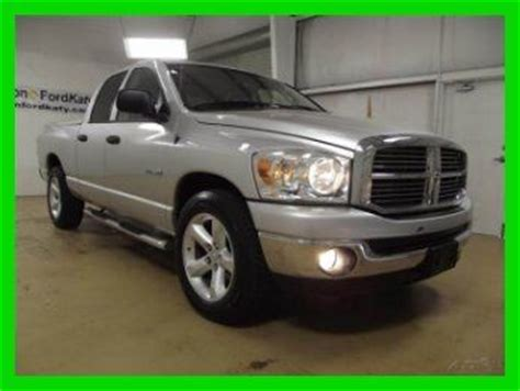 manual cars for sale 2008 dodge ram 1500 engine control buy used 2008 dodge ram 1500 quad cab slt 4 7l v8 manual transmission 1 owner 47k mi in katy