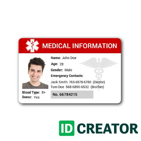 free id card templates templates franklinfire co