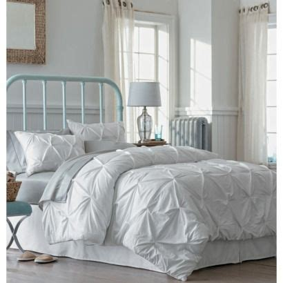 pinched pleat comforter set threshold pinched pleat comforter set white full queen