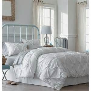 White Pinch Pleat Comforter by Threshold Pinched Pleat Comforter Set White