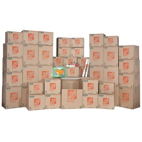 home depot moving supplies the home depot 48 box large packing kit 701167 the home