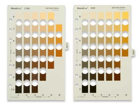 munsell color chart munsell soil page 2 pack ideedaprodurre