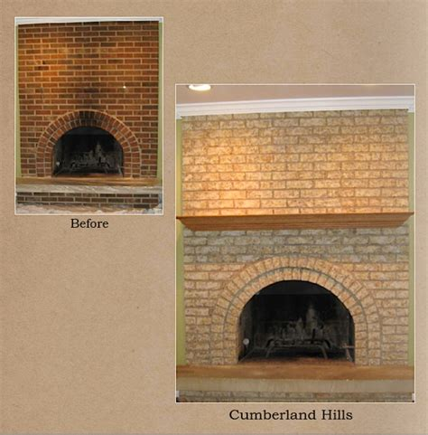 how to refinish a brick fireplace chicagoland northwest suburbs fireplace brick refinishing
