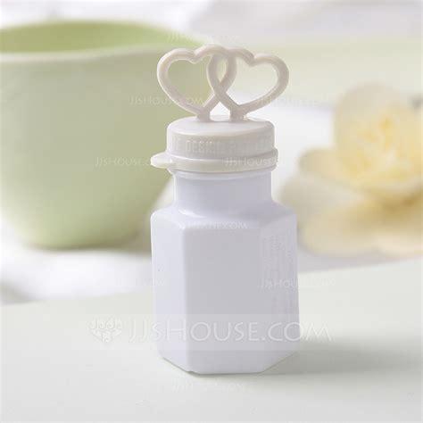 Heart Design Plastic Bubble Bottle (set of 24) (131040028