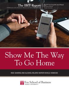 show me the way to go home institute for business and