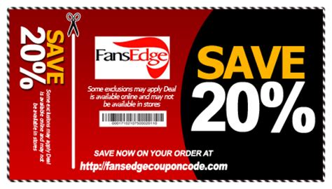 fan coupon code fansedge coupon code 2016 specialist of coupons