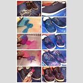 How to Make Galaxy Shoes - DIY - AllDayChic