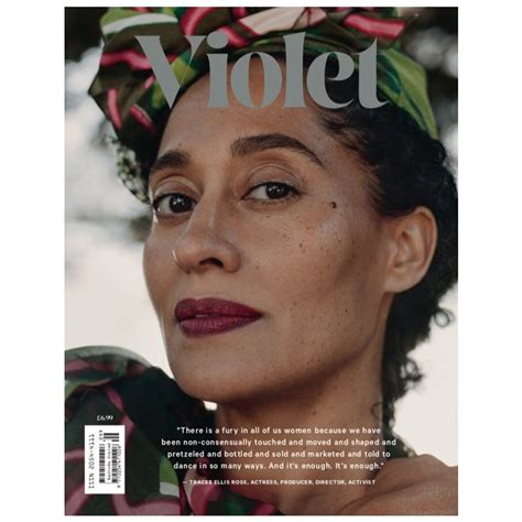 tracee ellis ross magazine cover tracee ellis ross covers violet magazine s latest issue
