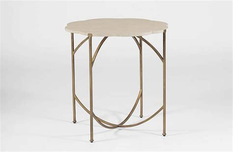 flower accent table transitional accent table gillian flower table