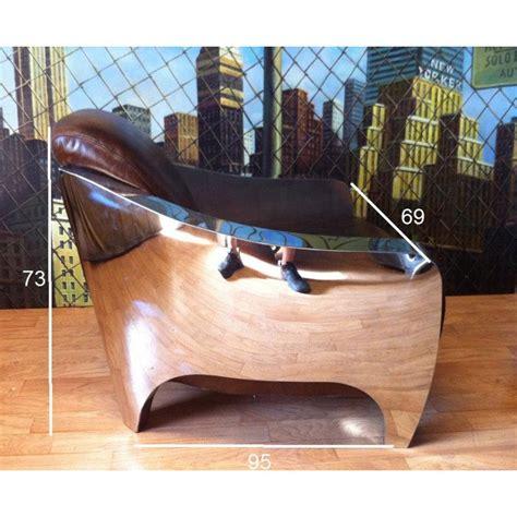 fauteuil cuir vieilli vintage fauteuils club fauteuils et poufs fauteuil club prestige aviateur en cuir marron vieilli