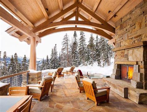 ski lodge fireplace ski lodge outdoor fireplace h o m e d e s i g n o u t