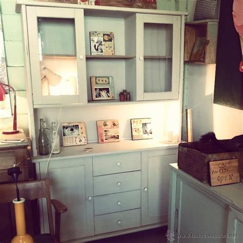 alacena vintage restaurada para cocina o comedo comprar - Alacena Vintage Restaurada