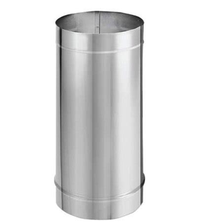 10 Inch Stainless Steel Stove Pipe Single Wall by Duravent 6dbk 12ss Stove Pipe 6 Inch Durablack Vent Pipe