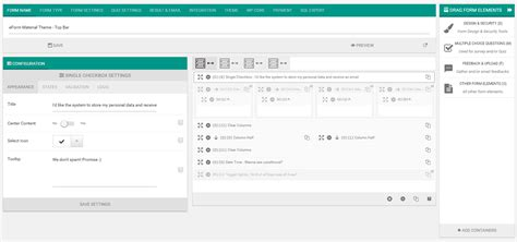 form design for quiz system eform wordpress form builder by wpquark codecanyon