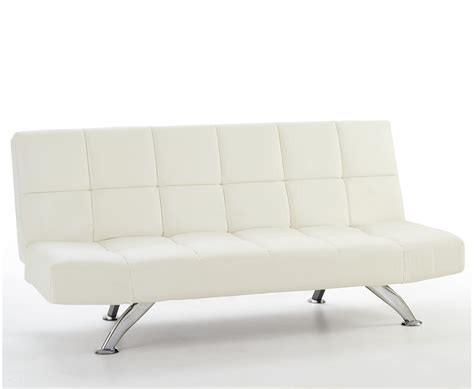 white leather sofa bed venice 4ft orchid white faux leather sofa bed just 4ft beds
