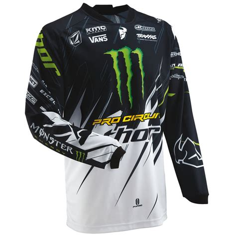 motocross jersey thor 2013 phase s13 pro circuit energy mx shirt