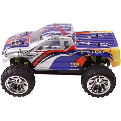rc nitro monster trucks 1 10 nitro rc monster truck mountain viper
