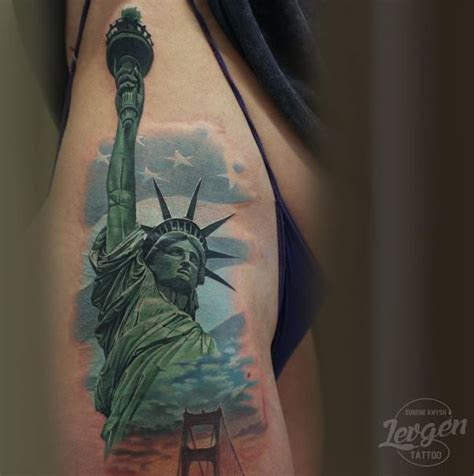 statue of liberty pin up tattoo tattoo s by richie 25 best ideas about statue of liberty tattoo on pinterest