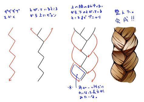 how to do doodle braids how to draw braids to draw
