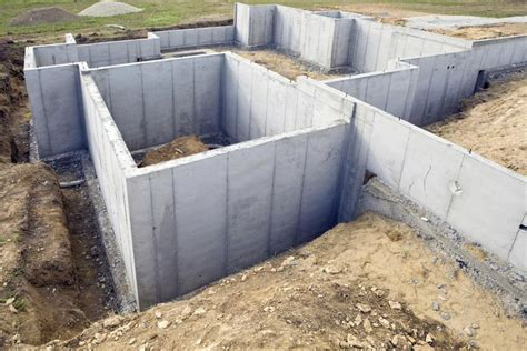 Exterior Wall Thickness how to build foundation walls