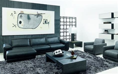 Black And White Living Room Set Black Living Room Furniture Set Plushemisphere