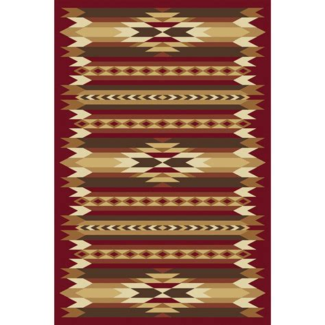 Painted Desert Rug by Orian 174 Painted Desert Rug 23x89 Quot 176288 Rugs At