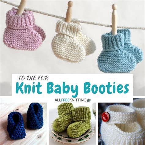 loom knit baby booties beginners 27 knit baby booties to die for allfreeknitting