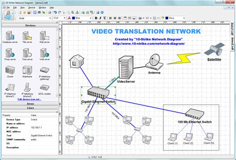 diagram 10 strike network diagram screenshots