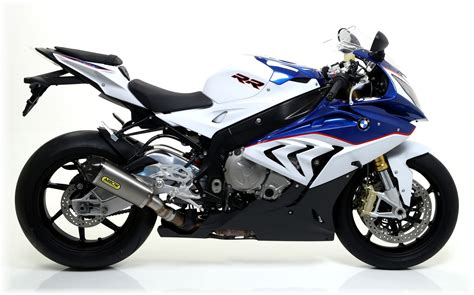 bmw s1000rr 2015 2015 bmw s1000rr gets range of arrow exhausts