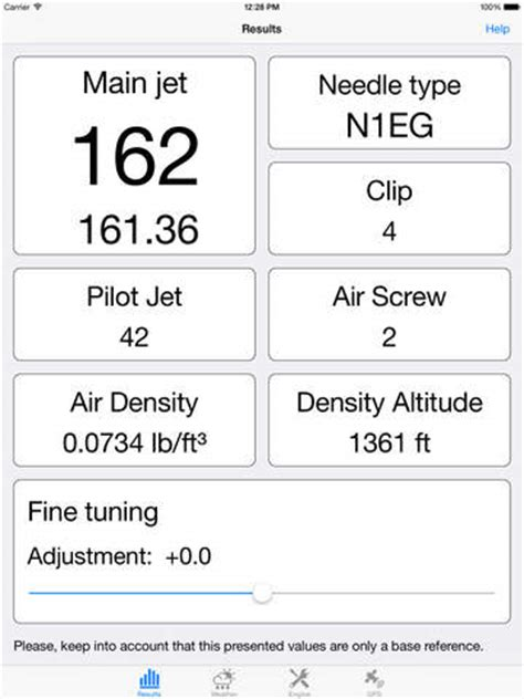 Ktm 65 Jetting Chart Jetting For Ktm Sx Exc Mx Mxc 2t On The App Store