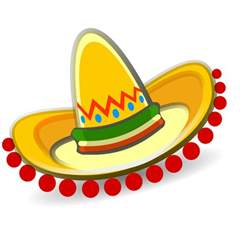 mexican hat clipart
