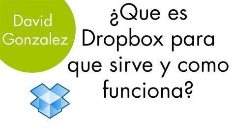 q es pattern en español 191 que es dropbox para que sirve y como funciona
