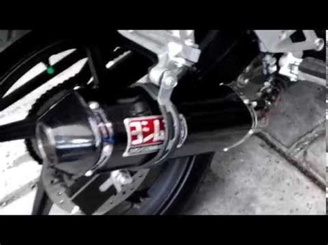Knalpot All New Cb150r Slip On Yoshimura R 11 Biru new cbr150r k45 review kenalpot leo vince by julianto pratama mp3 mp4 webm